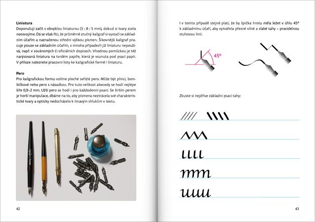 Radana Lencova Comenia Script Practice Manual